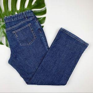 J Jill Jeans Stretch Straight Leg 14 P Petite